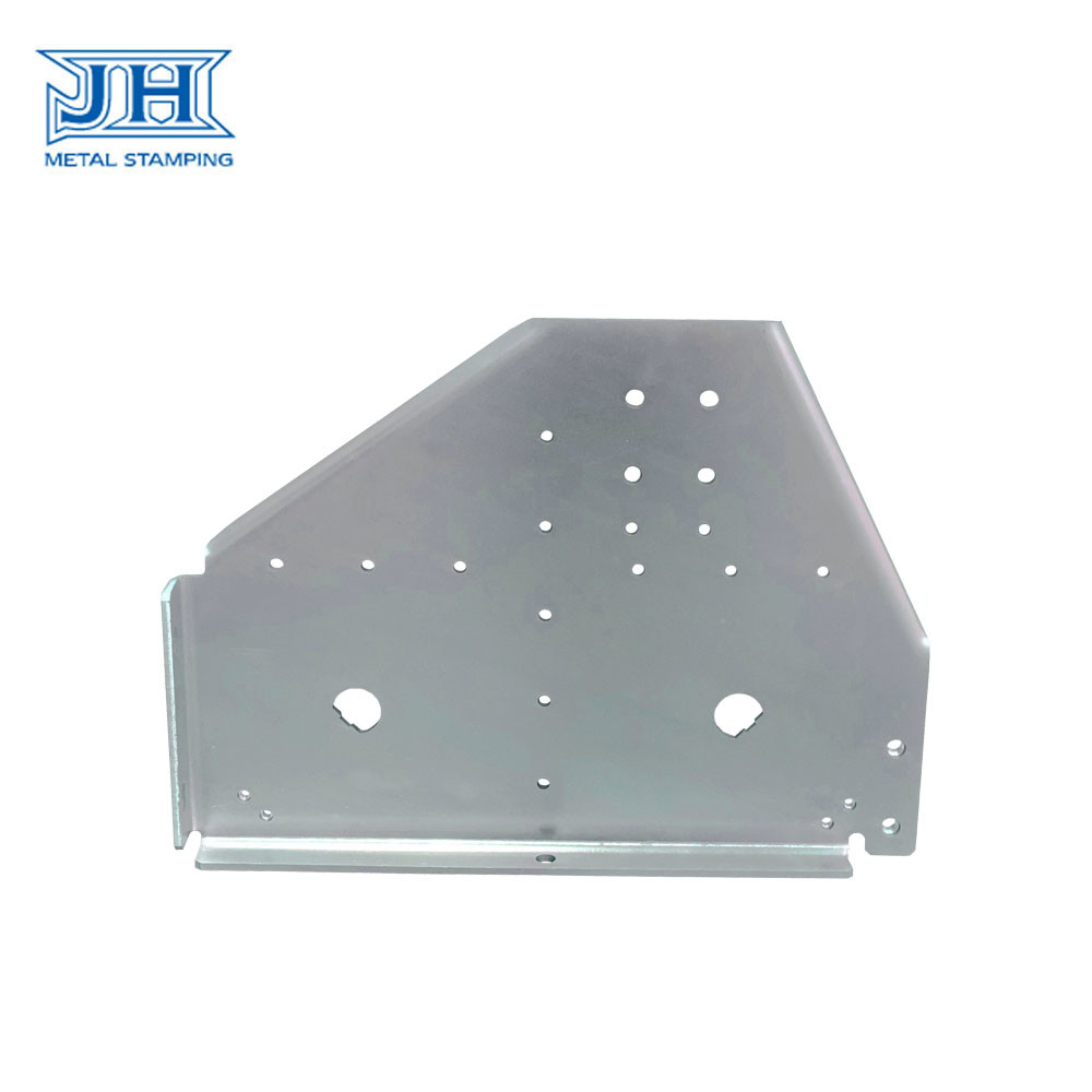 Wall Mount Bracket Heavy Duty Customized Zinc Plating Stamping